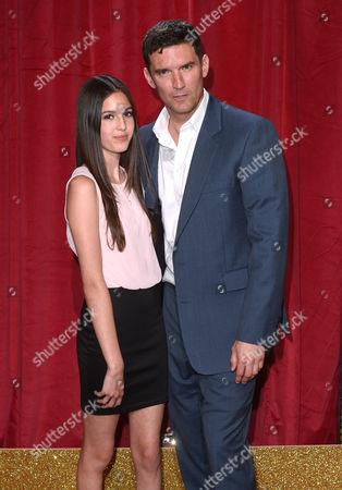 Matthew Chambers and daughter