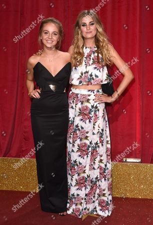 Eden Draper-Taylor and Sophie Powles