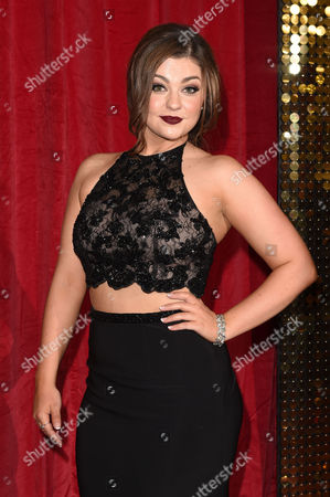 Editorial image of The British Soap Awards, Hackney Town Hall, London, Britain - 28 May 2016