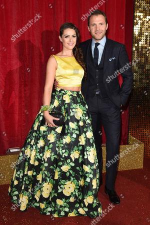 Anna Passey and Nick Rhys