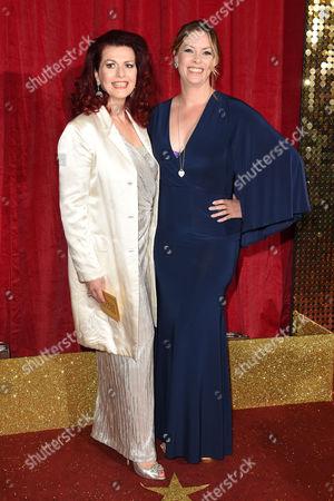 Cleo Rocos and Sharon Marshall