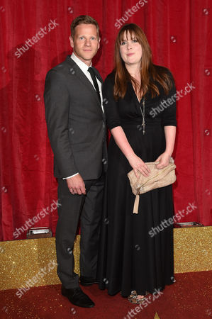 Stock Picture of Jessica Regan and Adam Astill