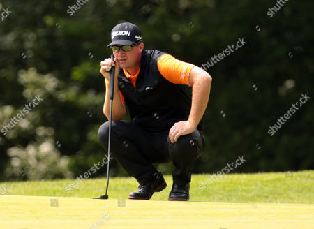 Peter HANSON during Round 3 The BMW PGA Championship at Wentworth Club on 28th May  2016