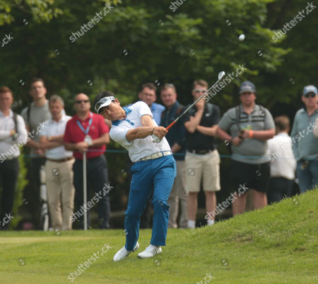 Y. E. YANG  during Round 3 The BMW PGA Championship at Wentworth Club on 28th May  2016