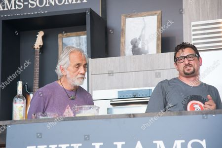 Tommy Chong and Chris Cosentino