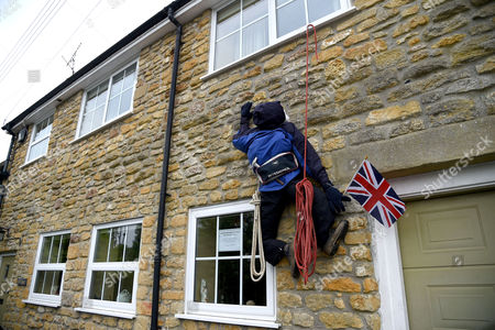 Sir Chris Bonington scarecrow