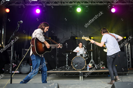 Editorial image of Tunes in the Dunes Festival, Perranporth Beach, Cornwall, Britain - 28 May 2016