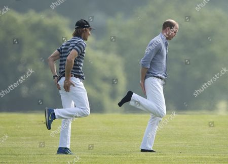 Stock Image of Luke Tomlinson and Prince William