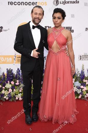 Juan Manuel Bernal and Adriana Paz