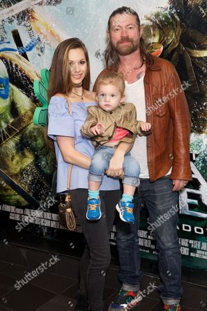 Jessica-Jane Stafford, Lee Stafford and son