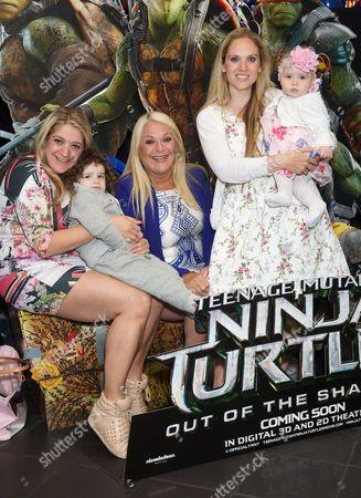 Editorial image of 'Teenage Mutant Ninja Turtles Out Of The Shadows' VIP film screening, London, Britain - 29 May 2016