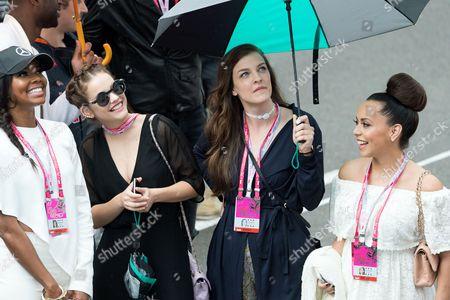 Adrienne Williams, Gabrielle Union, Barbara Palvin and Anita Palvin