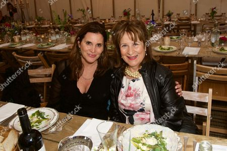 Stock Picture of Janine Di Giovanni and Helena Kennedy