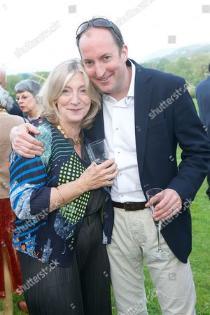 Rosie Boycott and Guto Harri