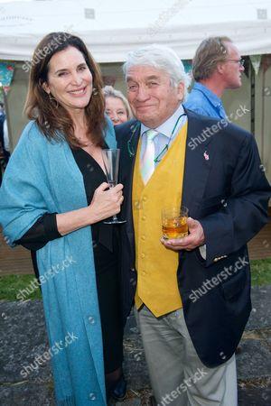 Stock Photo of Janine Di Giovanni and Robert Albert