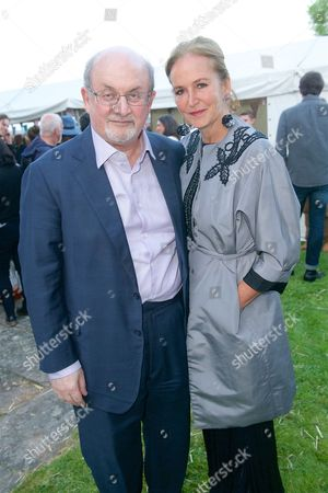 Salman Rushdie and Caroline Michel