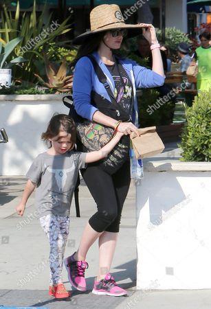 Stock Photo of Noah Shannon Green and Megan Fox