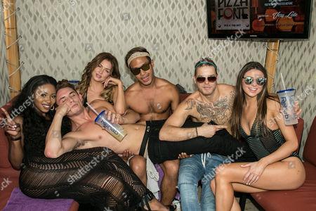 James Kennedy, La La Kent, Raquel Leviss and friends