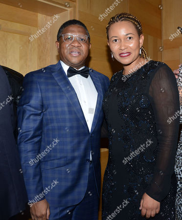 Fikile Mbalula and his wife Nozuko Mbalula
