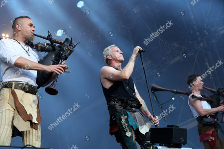 Editorial photo of Rockavaria Festival at the Olympiapark in Munich, Germany - 28 May 2016