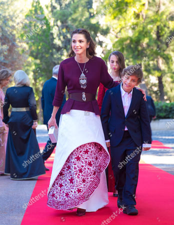 Queen Rania and Prince Hashem