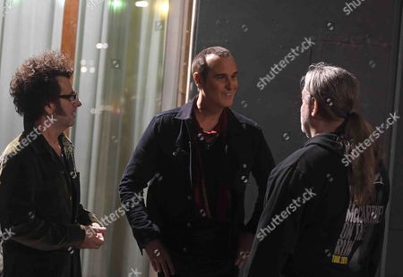Bruce Witkin and Robert DeLeo of Stone Temple Pilots coming to Jonas Akerlund 's party