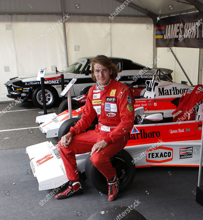 Freddie Hunt, son of the late F1 World Champion James Hunt.