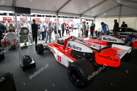 Editorial photo of James Hunt celebration at Brands Hatch, Britain - 29 May 2016