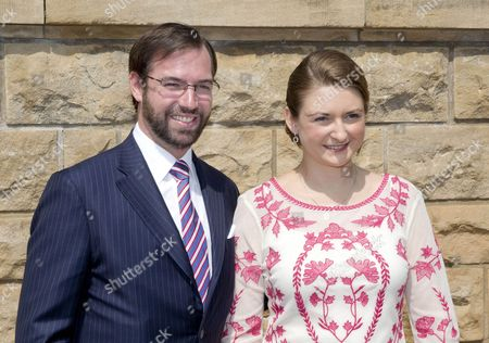 Hereditary Grand Duke Guillaume of Luxembourg of Luxembourg and Countess Stephanie de Lannoy