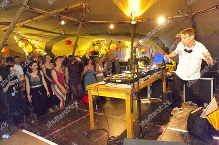 Stock Image of DJ Gilles Peterson