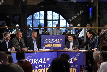 Editorial photo of The Walkabout Euro 2016 Preview, Walkabout Bar, Temple, London, Britain - 31 May 2016