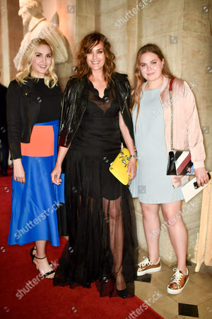 Saffron Le Bon, Yasmin Le Bon and Tallulah Le Bon
