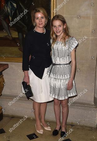 Viscountess Serena Linley and Margarita Armstrong-Jones