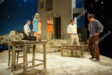 Christos Callow (Stamatis), Elizabeth McGovern (June), Glykeria Dimou (Maria), Pippa Nixon (Charlotte), Ben Miles (Harvey), Sam Crane (Theo)