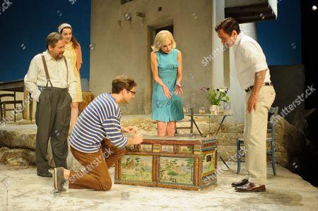 Christos Callow (Stamatis), Glykeria Dimou (Maria), Sam Crane (Theo), Elizabeth McGovern (June), Ben Miles (Harvey)