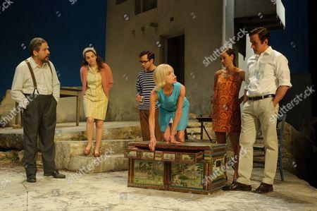 Christos Callow (Stamatis), Glykeria Dimou (Maria), Sam Crane (Theo), Elizabeth McGovern (June), Pippa Nixon (charlotte), Ben Miles (Harvey)