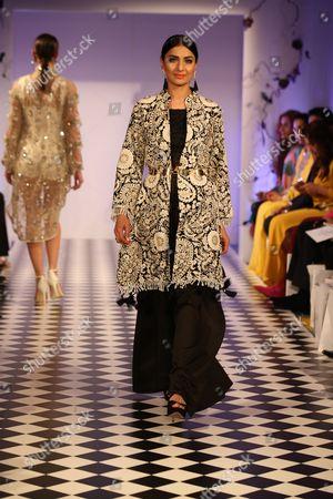 Editorial image of Mehreen Noorani show, Fashion Parade, London, Britain - 31 May 2016