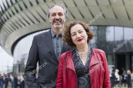 Stock Image of Anouk Legendre and Nicolas Desmazieres