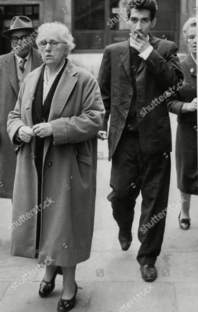 Editorial picture of Lady Isabella Frankau Wife Of Surgeon Sir Claude Frankau With Walter Carr A 21-year-old Canadian Drug Addict Who Had Been Sent To Her To Be Cured Of His Addiction. He Had Forged Her Signature To Get Drugs. (for Full Caption See Version) Box 637 11510