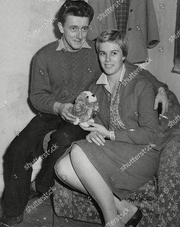 Cherrie (cherry/cherie) Butlin Daughter Of The Holiday Camp King Billy Butlin Pictured With Her Fiance Christopher Coll. Box 638 119101520 A.jpg.