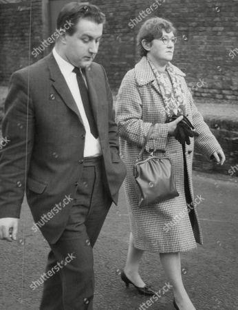 Peter Watson Boyfriend Of Murdered Girl Carol Ann White Arriving At Court With Carol's Mother. Box 641 319111511 A.jpg.