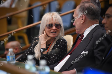 Dr. Miriam Adelson, Ronald Lauder, President of the World Jewish Congress