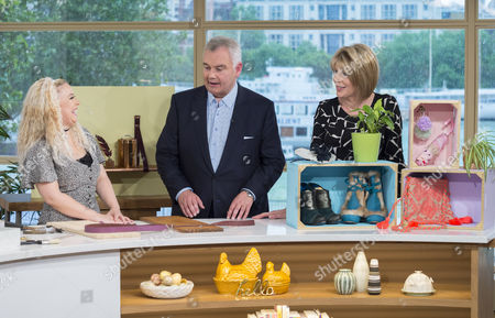 Sophie Prescott with Eamonn Holmes and Ruth Langsford