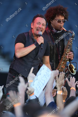 Bruce Springsteen and the E Street Band - Bruce Springsteen and Jake Clemons