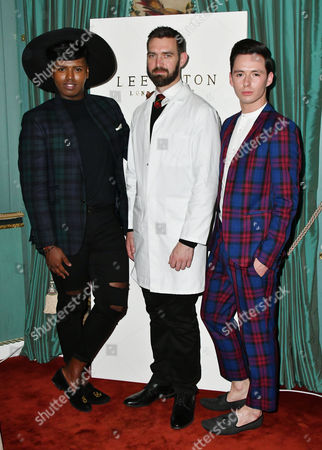 Prince Cassius, Lee Paton, Lorcan London