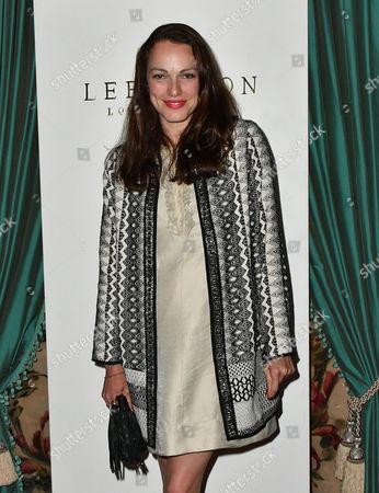 Editorial image of Lee Paton fashion show reception, London, Britain - 01 Jun 2016