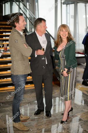 Stock Image of Paul O'Regan, Jamie Bill and Sarah Miller