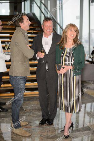 Stock Picture of Paul O'Regan, Jamie Bill and Sarah Miller