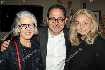 Elizabeth Cantillon, Michael Barker and Eleanora Kennedy
