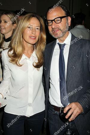 Rachael Horovitz and Fisher Stevens